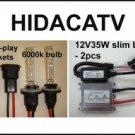 2009-12 Arctic Cat ATV 35W HID Headlight Conversion Kit