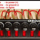 Eagle Eye 6 Fuse Light Switch