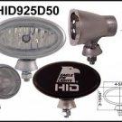 "Eagle Eye 4-5/8"" Oval Silver HID 50W Driving Light"