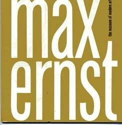 MAX ERNST Exhibition Catalog - Vintage 1961 1st edition(Softcover)