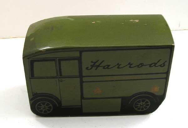 MEMORABILIA 1968 UK Harrods English Electric Van Advertising