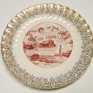 State Plate The Ozarks Vintage Souvenir early 1970s, Decorative,
