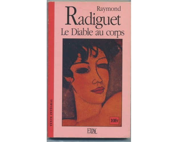 Le Diable au Corps by Radiguet Texte Integral, French Text Vintage Book,