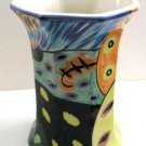 Modern Unique Vase Artistic Decor, Hand Painted Vase, Hand Glazed Vase, Modern Art,