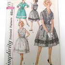 Vintage 1950s Dress Sewing Pattern, Size 14 Bust 34, SIMPLICITY 3923.