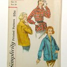 Jacket Sewing Pattern, Vintage 1950s WOMEN CASUAL JACKET, Simplicity 2273.