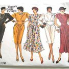 5 Versions of the same Dress in One Vogue Sewing Pattern 1742 Sizes 6-8-10 - New