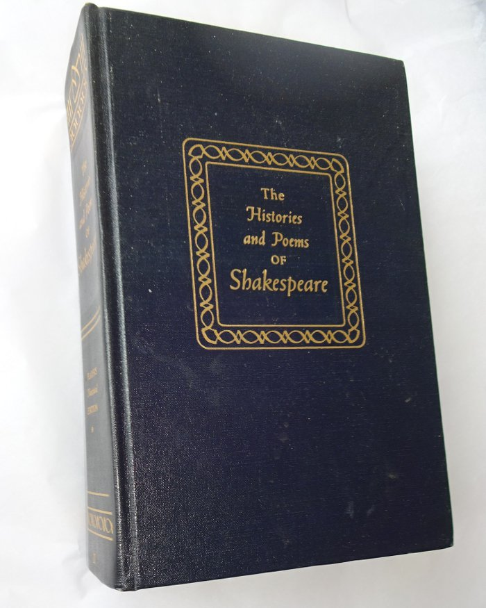 The Histories and Poems of Shakespeare, Player's Illustrated Edition Hardcover 1955