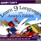 LEARN 9 LANGUAGES - AESOPS FABLES