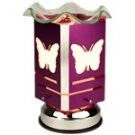 Electric Oil Warmer - Purple Butterfly