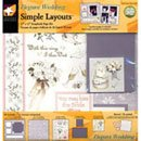 Scrapbooking Kit Elegant Wedding.