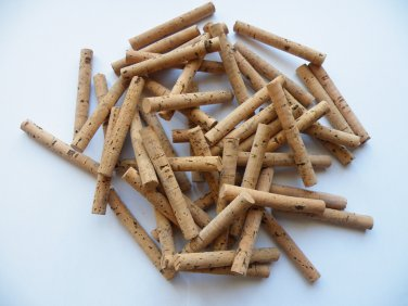 "50 Cork Cylinders with 10.30mm(diameter)"" x 75 mm length natural"