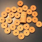 "30 CORK RINGS 1 1/2""X1/2""  BORE 1/4"" EXTRA"