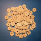 "100 AGGLOMERATED  CORK RINGS 11/4""X1/2"" LARGE GRAIN  BORE 1/4"""