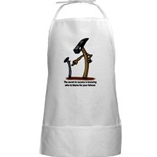 Blame Them Long BBQ Apron