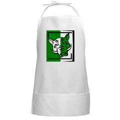 Green Pig BBQ Cooking Apron