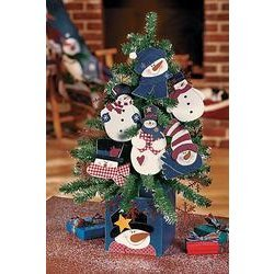 Snoman Ornament Tree