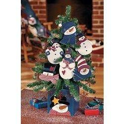 Snoman Ornament Tree