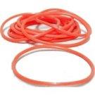 144 Orange Jelly Bracelets