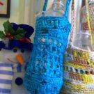 Plastic Drink/botlle holders- Blue