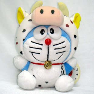 Doraemon (Ding Dang) Chinese Zodiac Plush Ox