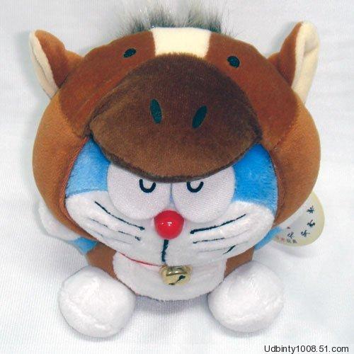 Doraemon (Ding Dang) Chinese Zodiac Plush Horse