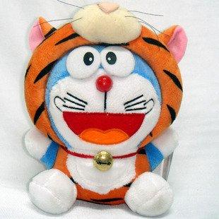 Doraemon (Ding Dang) Chinese Zodiac Plush Tiger