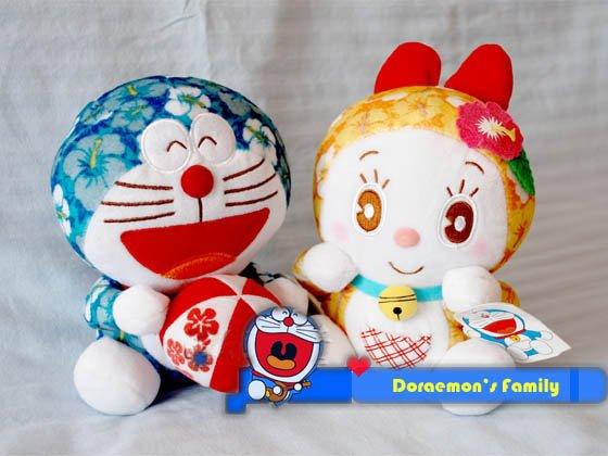 Doraemon Dorami Hawaii Plush Collection