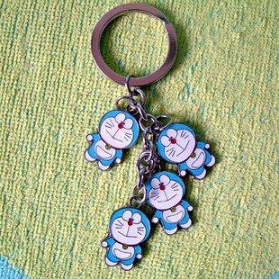 4 Naughty Cute Doraemon/DingDang Keychain