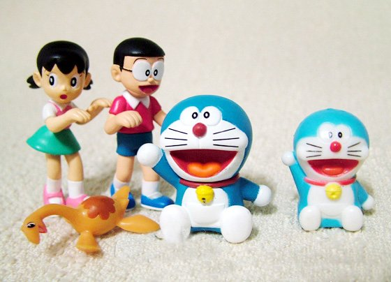 Doraemon/DingDang Nobita's Dinosaur (2006) Edition Figure Collection