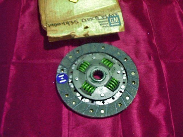Chevette 76-81 Pontiac T1000 Clutch Disc NOS GM 14004435