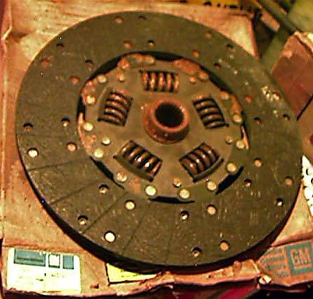 1985-88 Corvette Pressure Plate Disc 14084176 14084177