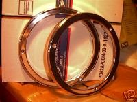 1963 Chevrolet Pick-Up Suburban NOS Headlight Bezels W/deluxe 3822813