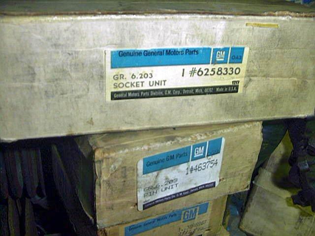 Chevrolet GMC 73-91 K-V series Upper/Lower Ball joints # 6258330 463754 14039008
