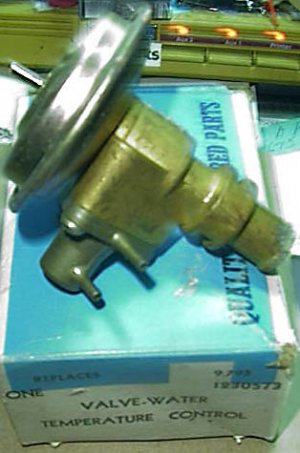 1230573 1969-70 Buick All with Automatic Tempature Control Rarel NOS Heater Valve
