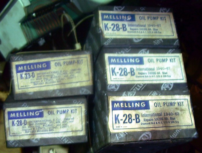 Engine Oil Pump Kit International Truck 1940-1967 Diamond K6-K7 170 180 Engine 106386 HA K28B