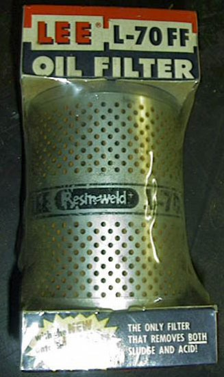 Chrysler Plymouth Dodge Plymouth Packard  Nash Rambler Willys Jeep 50s 60s 1821552 Oil Filter