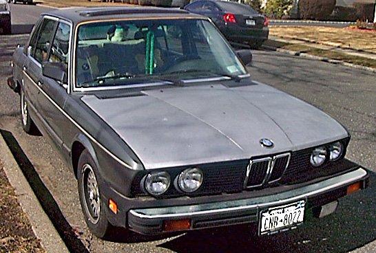 BMW 528 E 1985 Sedan Gunsmoke Grey,Cool Running,Great FUN Summer Cruiser/Project Car !