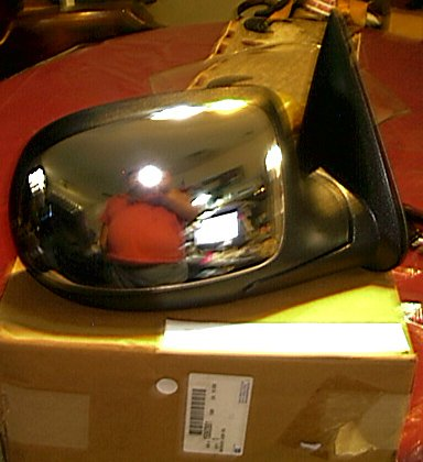 Chevrolet GMC 99-2002 C, K, Series NOS R/S Electric Chrome Extender Mirror Look ! 15172248