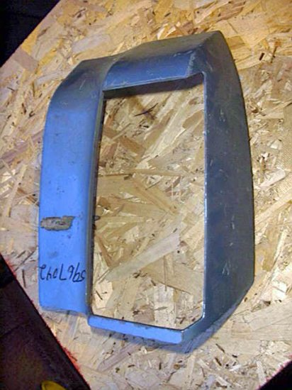 1976-1977 Oldsmobile Cutlass Quarter Panel Extension, 5967042