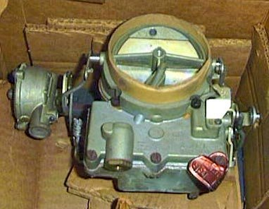 Oldsmobile 1961-1964 NOS GM Delco Rochester Carburetor 2 BBL 394 22-535,  7016106