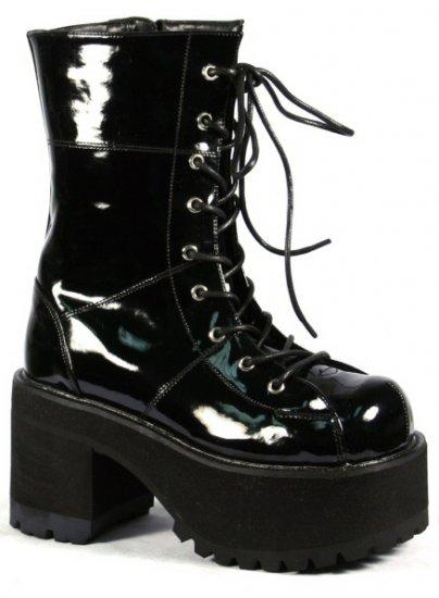Ranger Lace Up Platform Ankle Boots