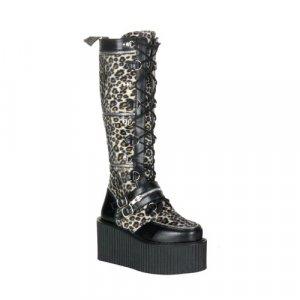 Platform Zipper Boots