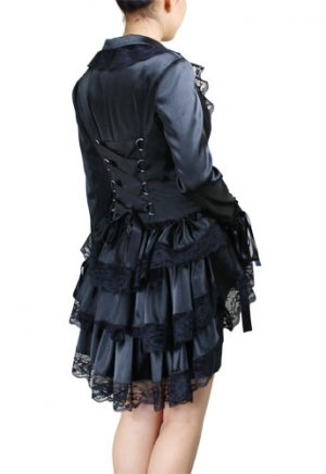 Victorian Lace Corset Style Jacket