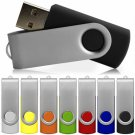 100 Custom USB Flash Drive 1GB with 2 colors imprint