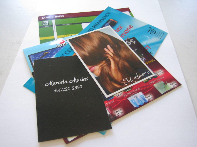 "10,000 Post Cards 4.25"" X 5.5"" 14pt (Gloss UV) 4/4"
