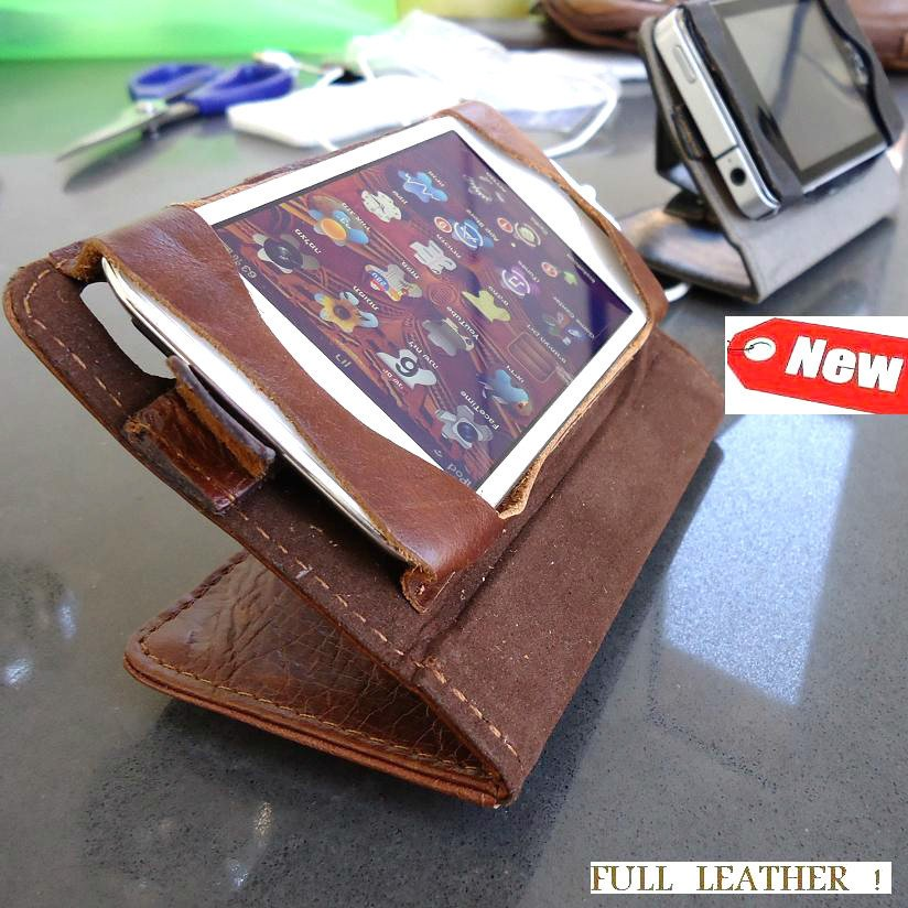 genuine leather Flip case fit iphone 4s book Card wallet cover stand holder 3g s id free shipping !