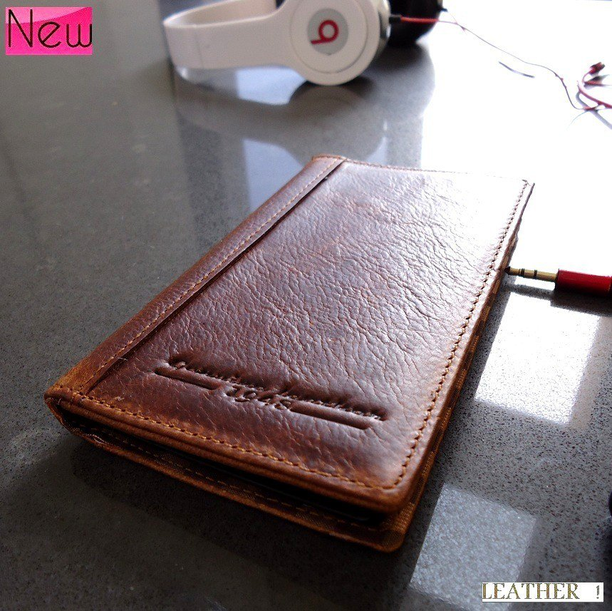 genuine leather case for nokia lumia 920 book wallet cover pouch handmade new id