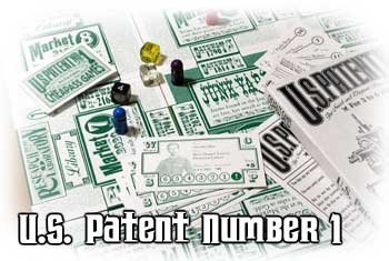 U.S. Patent Number 1 Cheapass Games CAG 034