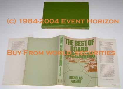 The Best of Board Wargaming Nicholas Palmer 1980 Hippocrene Books